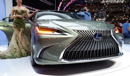 Tìm hiểu mẫu xe sang Lexus ES thế hệ hoàn toàn mới tại triển lãm VMS 2018