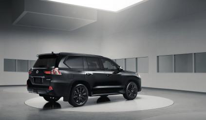 Khám phá Lexus LX Inspiration Series – Đen từ ngoài vào trong