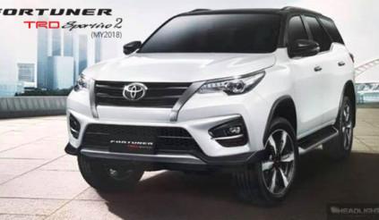 Toyota Fortuner TRD Sportivo 2 sắp ra mắt, giá bán từ 1,19 tỷ đồng