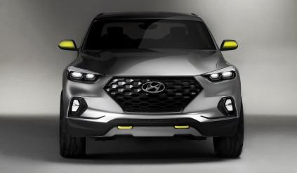 Mẫu bán tải đầu tiên của Hyundai – Santa Cruz sẽ sớm được trình làng