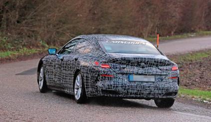 BMW 8 Series Gran Coupe lộ diện: đối thủ trực tiếp của Porsche Panamera