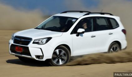 Subaru Forester chào đón giáng sinh với giá bất ngờ 686 triệu đồng