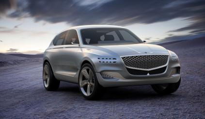 Chiếc SUV đầu tiên của Genesis sẽ ra mắt trong năm nay