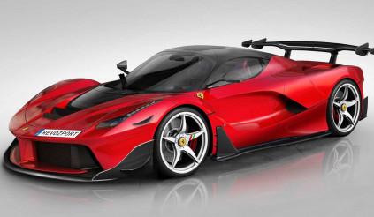 Siêu phẩm Ferrari LaFerrari 'lên thần' bằng gói nâng cấp mới