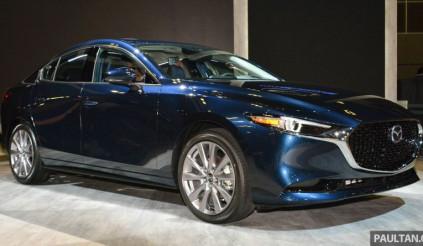Hé lộ hình ảnh Mazda3 thế hệ mới tại Triển lãm ô tô Singapore 2019