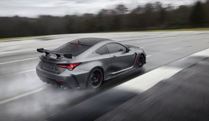 RC F Track Edition, phiên bản thể thao đặc biệt của Lexus tại triển lãm ô tô Detroit