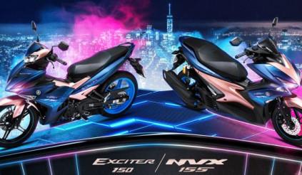 Yamaha NVX 155 và Exciter 150 trở lại với phiên bản Doxou