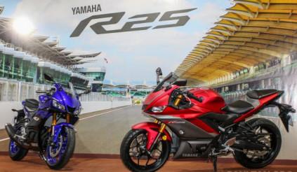 Yamaha YZF-R25 2019 lộ diện, đối thủ của Honda CBR 250RR