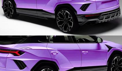 Biến thể màu 'kịch độc' của mẫu Lamborghini Urus xuất hiện