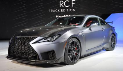 Lexus RC F Track 2020 nhẹ hơn và mạnh mẽ hơn