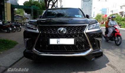"""'Siêu SUV 10 tỷ"""" – Lexus LX570 Super Sport bất ngờ xuất hiện tại Tây Đô"""