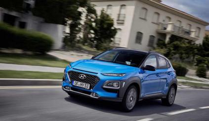 Hyundai Kona Hybrid trình làng
