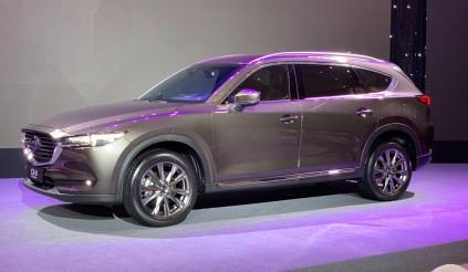 Mazda CX-8 - vua option chính thức trình làng