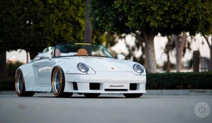 Khám phá chiếc Porsche 911 Speedster với bộ kính chắn gió trị giá 50.000 USD