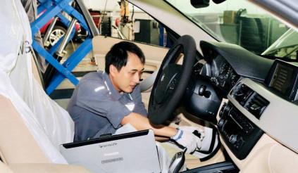 Trải nghiệm dịch vụ chăm sóc xe BMW thuận tiện