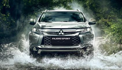 Lộ hình ảnh về Mitsubishi Pajero Sport 2020