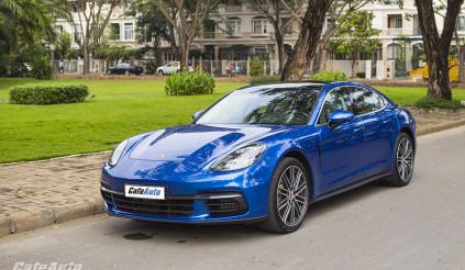 Porsche Panamera triệu hồi vì lỗi chập điện ở Việt Nam