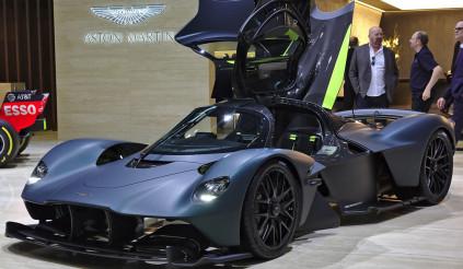 Việc thương mại hóa động cơ F1 trở thành thực tế với Aston Martin Valkyrie
