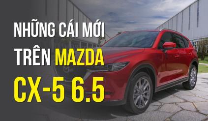 Những cái mới trên Mazda CX-5 mà thế hệ cũ không có