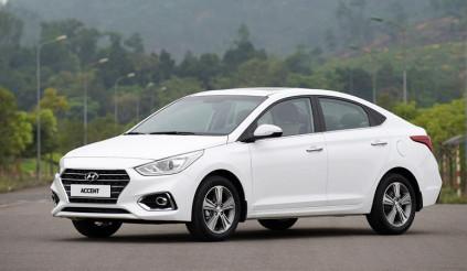 Accent là mẫu xe bán chạy nhất của Hyundai trong nửa đầu năm 2019