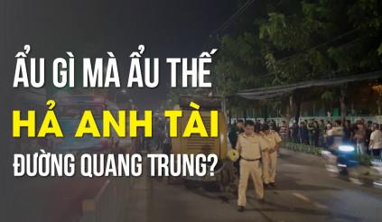 Ẩu gì mà ẩu thế hả anh tài đường Quang Trung?