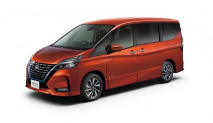 Nissan Serena mới ra mắt Nhật Bản với độ an toàn cao hơn