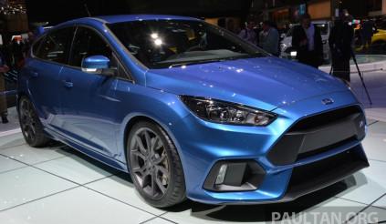 Ford Focus RS trở nên mạnh mẽ với gói điều chỉnh mới