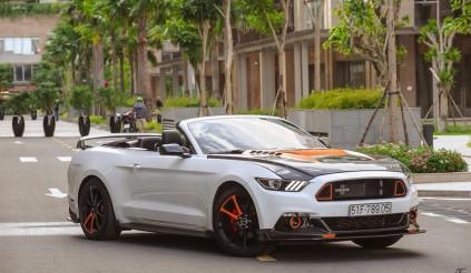 Ford Mustang độ cửa cắt kéo Lamborghini thay diện mạo sau 9 tháng