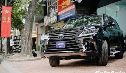 Cận cảnh Lexus LX570 bản đặc biệt vừa về Việt Nam có giá hơn 9 tỷ đồng