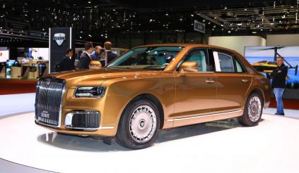 Người Anh có Rolls-Royce thì người Nga có Aurus