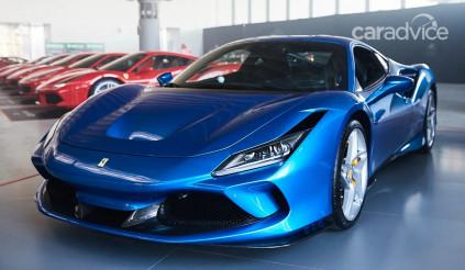 Ferrari F8 Tributo ra mắt tại Úc có giá từ 11,2 tỷ đồng