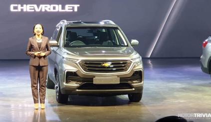 Chevrolet Captiva thế hệ mới ra mắt tại Thái đợi ngày Vinfast đưa về Việt Nam
