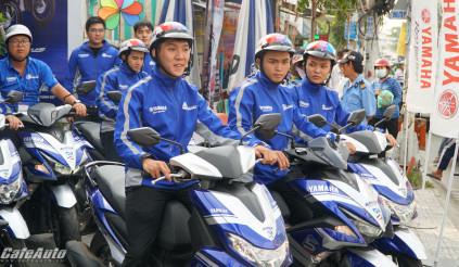 Yamaha kỷ niệm 5 năm động cơ Blue Core và hành trình xuyên Đông Nam á