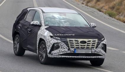 Hyundai Tucson thế hệ mới đây sao?