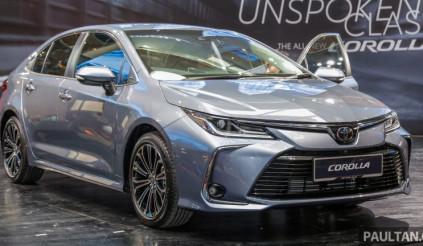 Toyota Corolla 2019 thế hệ mới ra mắt tại Malaysia giá từ 715 triệu đồng