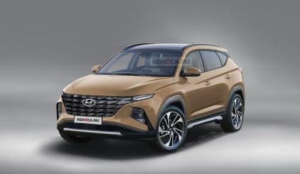 Hyundai Tucson 2021 thế hệ mới mạnh mẽ hơn  cả về ngoại hình và động cơ