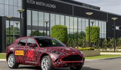 Siêu SUV Aston Martin DBX lộ nội thất kèm giá bán