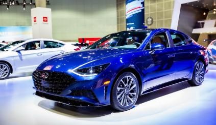 Sonata 2020, chiếc xe đáng đồng tiền bát gạo của Hyundai tại triển lãm LA