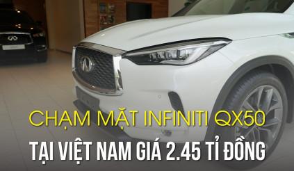 Chạm mặt Infiniti QX50 đối thủ GLC tại Việt Nam, giá 2.45 tỉ đồng