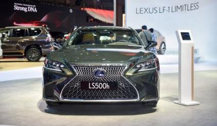 Xe sang Lexus LS 500h mới ra mắt, giá hơn 7,8 tỷ đồng