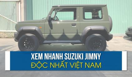 Cận cảnh Suzuki Jimny độc nhất Việt Nam