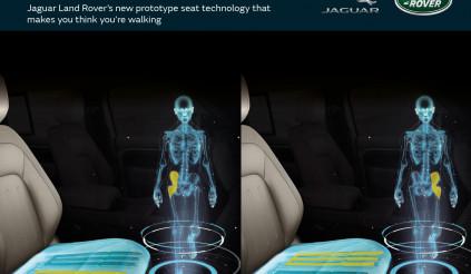 Ghế biến hình của Jaguar Land Rover có gì đặc biệt?