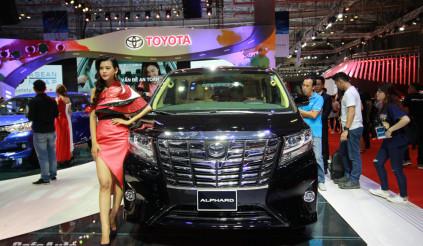 Triệu hồi xe Toyota Alphard tại Việt Nam vì lỗi đai an toàn