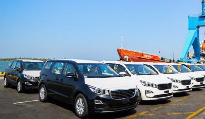 Thaco chính thức xuất khẩu xe Kia Sedona sang Thái Lan