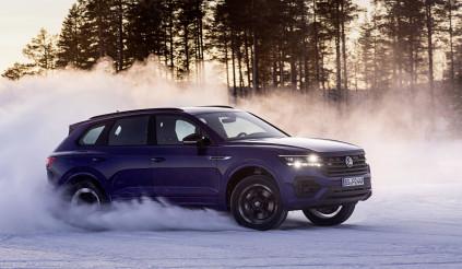 Tiếp nối Tiguan, Volkswagen hé lộ thiết kế mới của mẫu SUV Touareg R