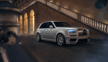 Bản độ cực phẩm biến Rolls-Royce Cullinan từ gầm cao thành gầm thấp