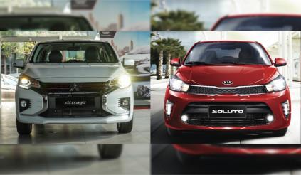 Mitsubishi Attrage và Kia Soluto, phân vân giữa nhập và ráp