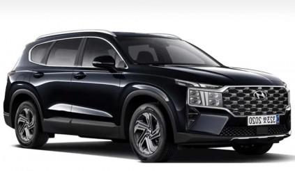Hyundai Santa Fe tiếp tục lộ diện mẫu 2021 facelift với nhiều thay đổi