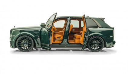 """Rolls-Royce Cullinan lại biến dạng dưới """"bàn tay độ"""" Mansory"""