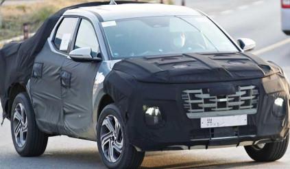 Lộ diện bán tải Hyundai được phát triển trên khung gầm Tucson